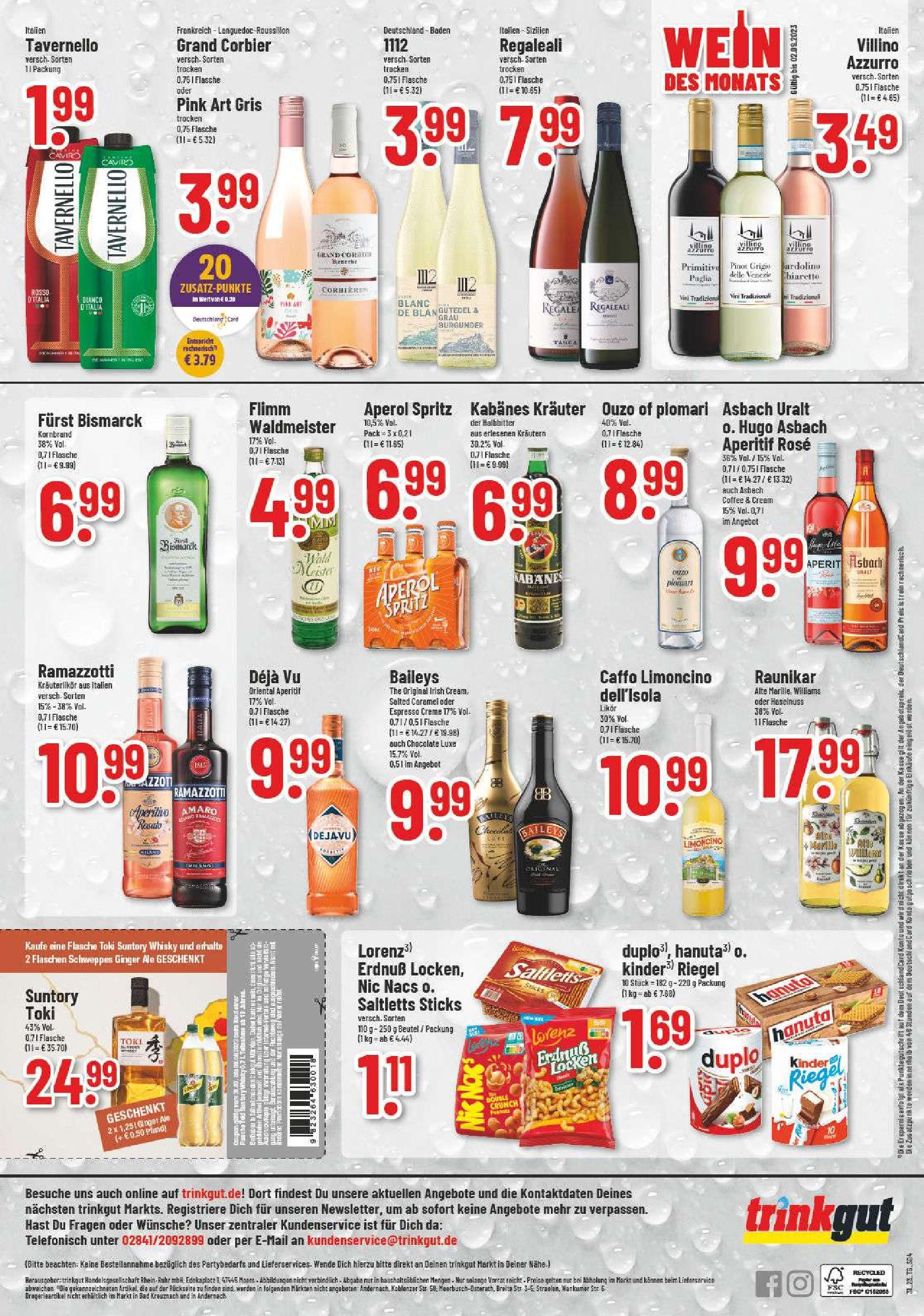 Trinkgut Getränkemarkt Sarstedt Zwischen Hannover Und Hildesheim
